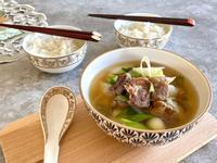 【韓式牛肉清湯】不冷的天,好暖