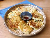 韓式櫛瓜蔬菜煎餅(微脆口感)