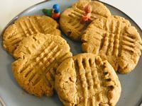 超級簡單的花生醬餅乾🍪