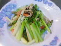 雞絲炒蘆筍