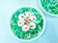 (無油料理)菠菜海鮮羹