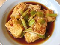 簡易家常版-蔥燒豆腐