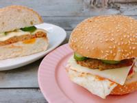 豬肉漢堡排(健康料理)