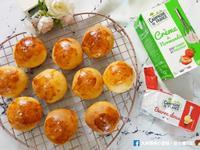 鮮奶油海鹽餐包~入門簡單,法國綠色山丘
