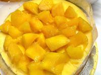 芒果輕乳酪蛋糕