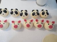 豬 熊貓造型鮮奶饅頭(純鮮奶)