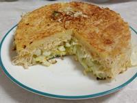 高麗菜麵線煎餅