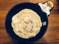 香菇瘦肉高麗菜粥