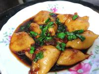 超簡單料理:醬燒水晶餃