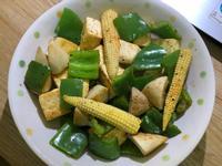 椒鹽豆腐蔬菜