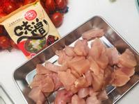 味增雞肉炒小黃瓜