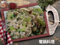 青江菜時菇菜飯