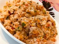 三色椒雞肉炒飯