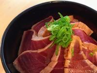 醤油口味漬鮪魚丼