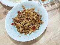 筍乾炒肉絲