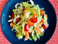泰式鮮蝦時蔬沙拉