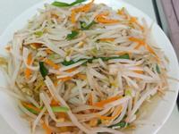清炒豆芽菜
