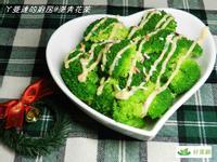 ㄚ曼達與好菜箱~燙青花菜