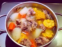 濃郁入味蘿蔔排骨湯