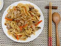 日式雞肉炒烏龍麵