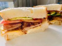 豬排總匯三明治