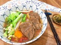 番茄紅燒牛肉麵~(牛肉軟嫩不爛的秘訣)