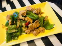 青椒炒雞肉