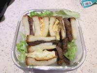 牛小排三明治