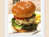 美式牛肉漢堡