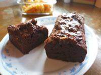 乳加巧克力+磅蛋糕