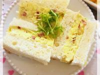 蔬菜厚蛋三明治