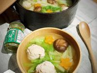 柚子胡椒雞肉丸子湯