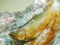 氣炸鍋鹽烤香魚