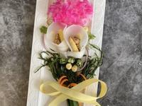 母親節創意料理 <蔬食> 康乃馨花束沙拉