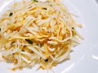 蛋絲燴筊白筍