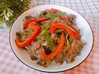 家常料理-黑胡椒牛柳