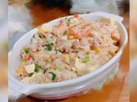 蝦子豆腐蔬菜鮮奶燉飯