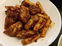 韓式蜂蜜辣醬炸雞加年糕[氣炸鍋]