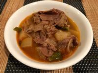 韓式辣牛肉蘿蔔湯