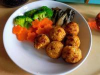 鮭魚烤飯糰