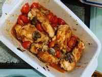 烤小蕃茄雞腿