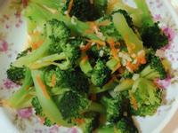 蒜頭炒青花菜(花椰菜🥦)