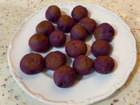 紫色地瓜球(氣炸)
