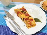 法式小早餐-舞菇蛋捲