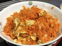 豆皮炒紅蘿蔔絲(全素)