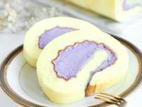 港式蛋糕粉應用 抹茶瑞士卷/紫薯瑞士卷
