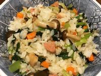 五目蔬菜拌飯(改良版上海菜飯)(素食)
