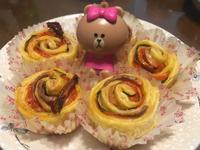 玫瑰酥皮捲(鹹食素食版本)