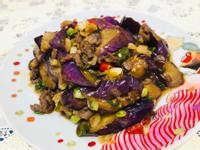 肉末茄子(快炒)(家常菜)
