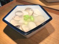 白蘿蔔蒜苗蛤蜊湯